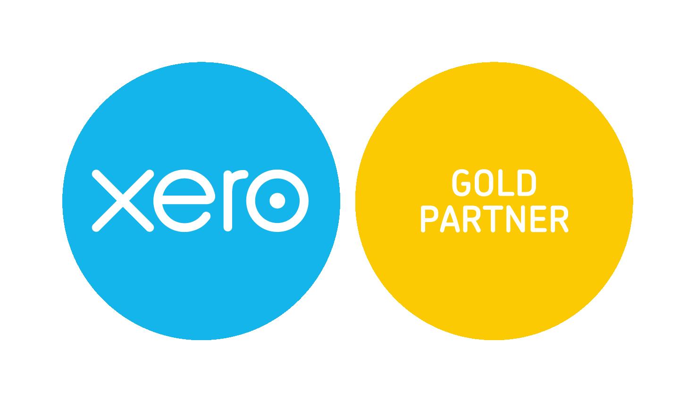 Xero gold partner logo for Randall & Payne Accountants Cheltenham