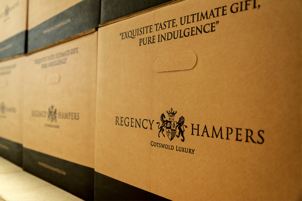 Regency Hampers boxes