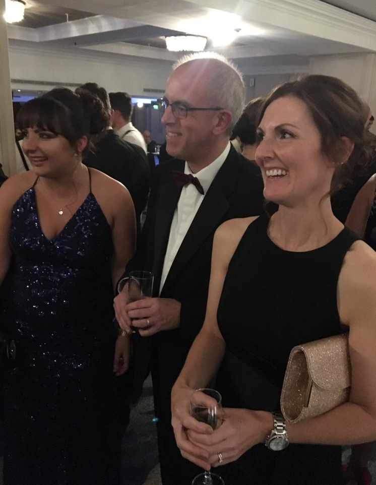 Photo of Randall & Payne's Gina Gardner, Tim Watkins and Vicky Link at the British Accountancy Awards 2018