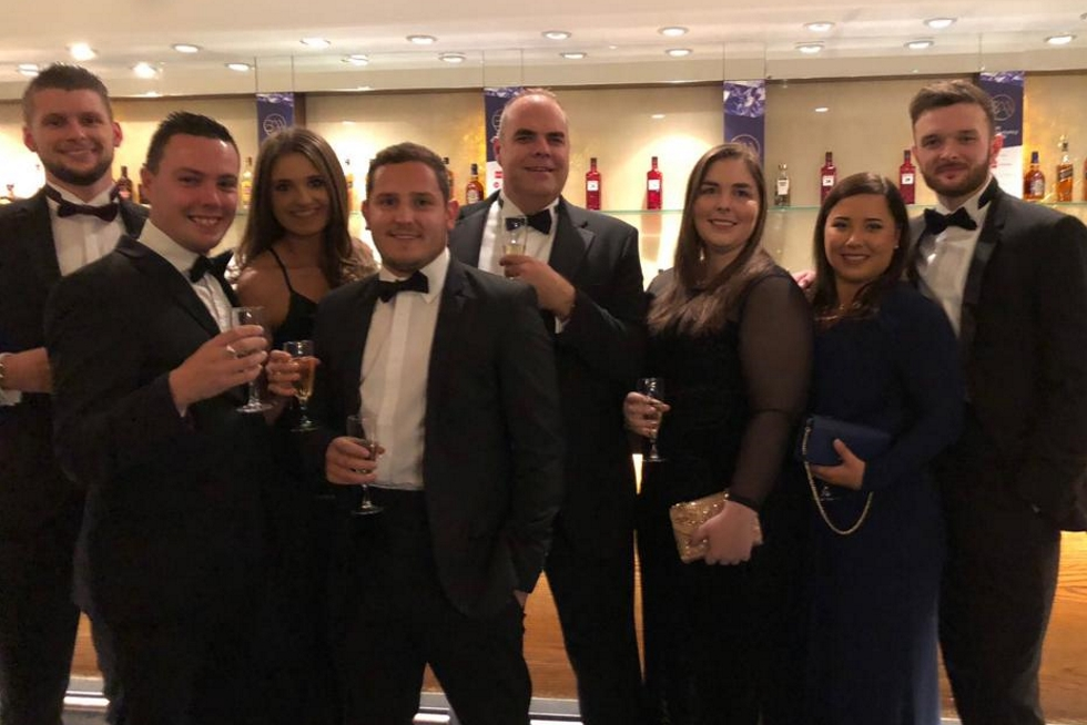 Photo of Randall & Payne Audit team finalists at the British Accountancy Awards 2018