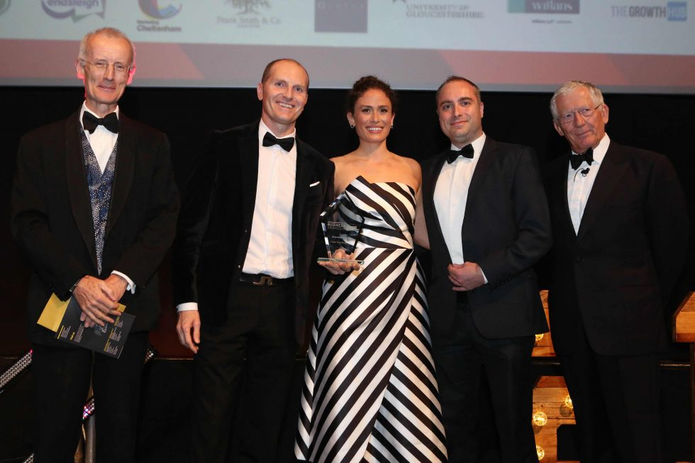 Gloucestershire Business Awards 2018 Business Innovation winner Salpo Technologies Ltd