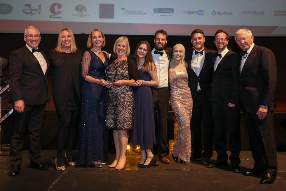 Gloucestershire Business Awards 2018 CSR Award winners Clarkson Evans