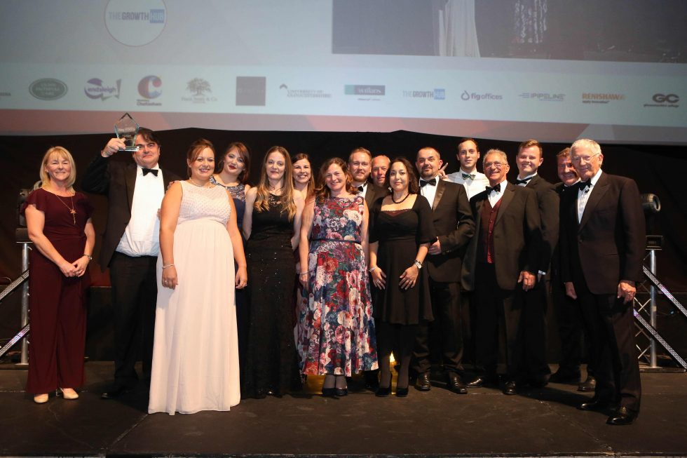 Gloucestershire Business Awards 2018 Growth Business of the Year winner Bennetts Tower Cranes