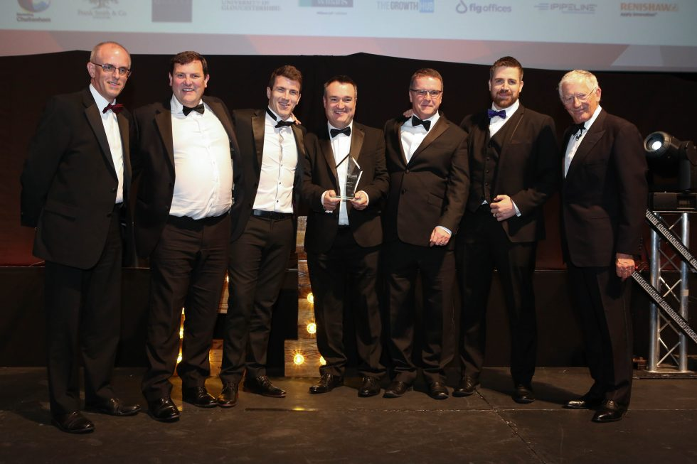 Photo of Gloucestershire Business Awards 2018 Business of the Year winner Batten & Allen