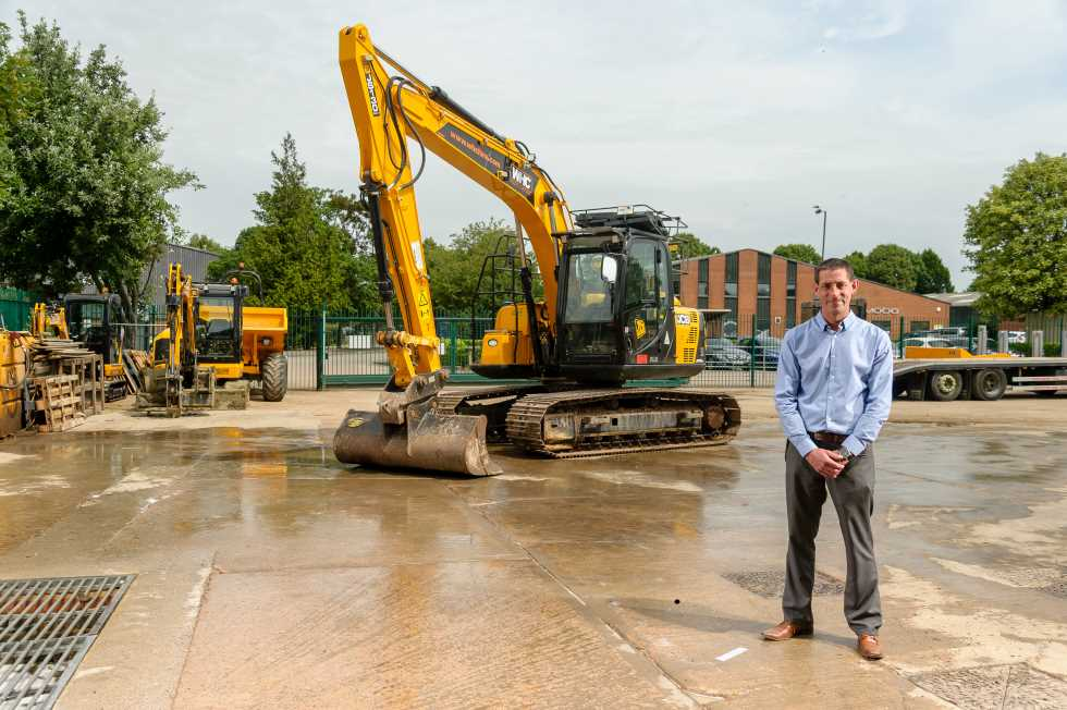 Photo of James Clutterbuck of WHC Hire Services