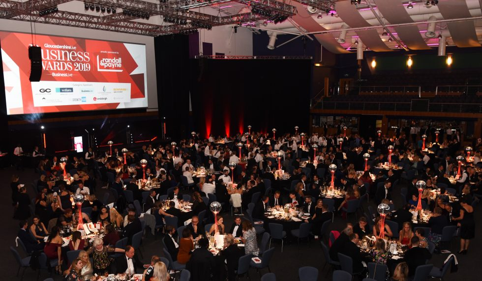 Room view Gloucestershire Business Awards 2019