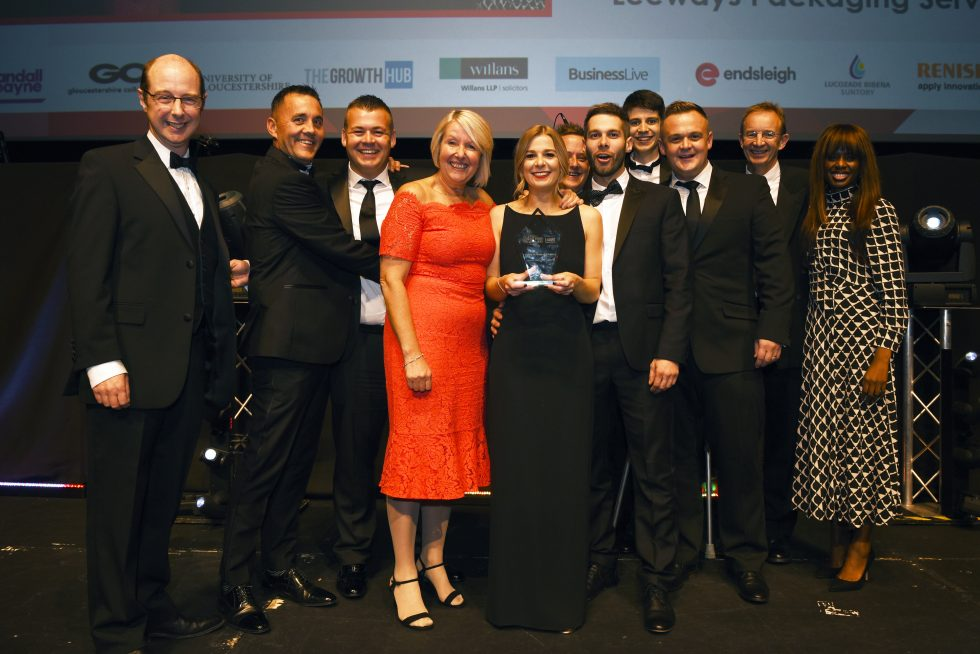 Winners of Family Business of the Year Award, Leeways Packaging Services