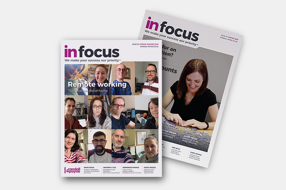 In Focus business magazine Randall & Payne